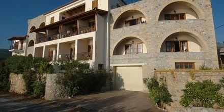 Hotell Liakoto i Kardamili, Grekland.