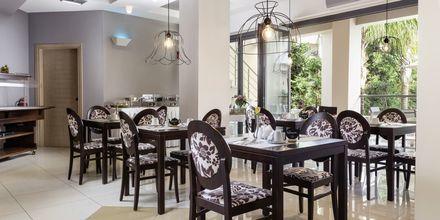 Frukostrum på hotell Libyan Princess i Paleochora.