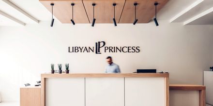Hotell Libyan Princess i Paleochora.
