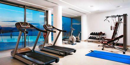 Gym på hotell Lindos Blu, Grekland.