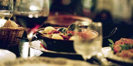 Restauranger och god mat finns det gott om i Lissabon.