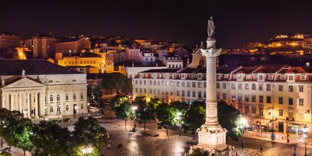 Rossiotorget i Lissabon, Portugal.