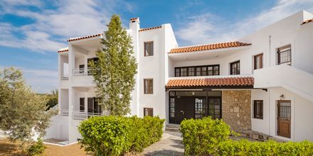 Hotell Lithos i Pythagorion på Samos, Grekland.