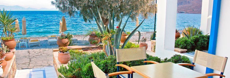 Lägenhetshotell Livadia Beach, Tilos.