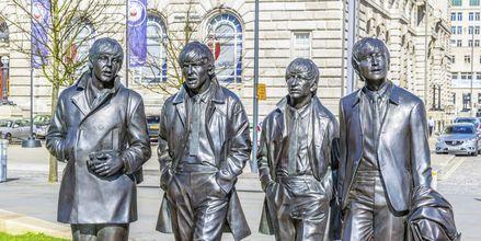 The Beatles har gjort Liverpool känt som musikstad.