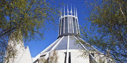 Liverpool Metropolitan Cathedral i England.