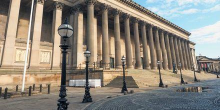 St George Hall, en känd arkitektonisk pärla i Liverpool.