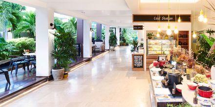 Bufférestaurang på hotell Loligo Resort Hua Hin i Thailand.