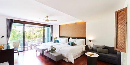 Deluxerum på hotell Loligo Resort Hua Hin, Thailand.