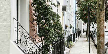 Notting Hill i London är en av de mysigaste stadsdelarna att strosa i.