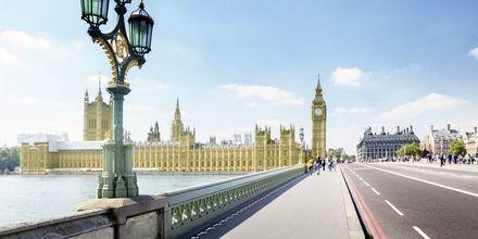London är perfekt för långa promenader!