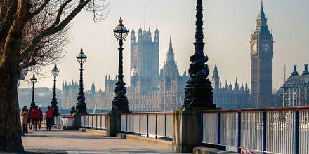 En weekend i London är mysigt alla årstider.