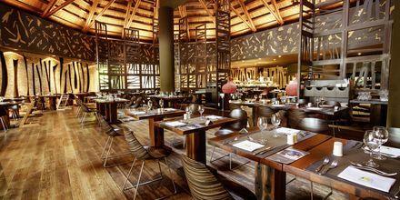 Bufférestaurangen Marula på Lopesan Baobab Resort i Meloneras.