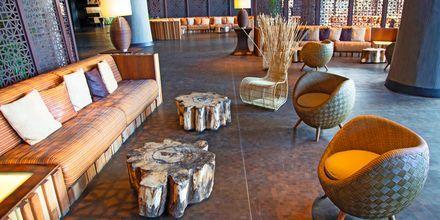 Lobbyn på Lopesan Baobab Resort i Meloneras, Gran Canaria.