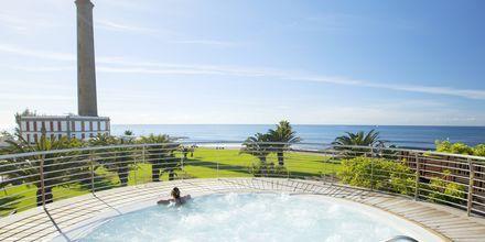 Jacuzzi på Lopesan Costa Meloneras Resort Spa & Casino, Gran Canaria.
