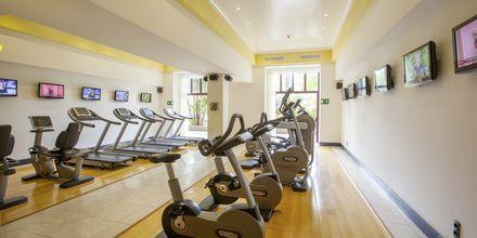 Gym på Lopesan Costa Meloneras Resort Spa & Casino, Gran Canaria.