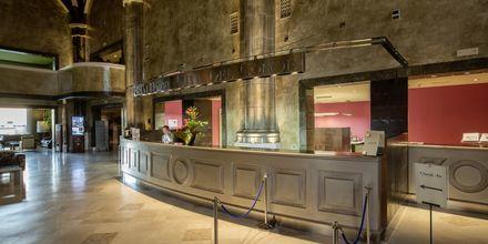 Reception på Lopesan Villa del Conde Resort & Thalasso i Meloneras, Gran Canaria.