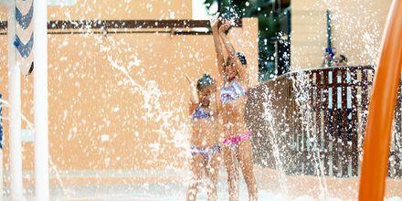 Vattenpark för barn på hotell Los Alisios på Los Cristianos, Teneriffa.