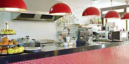 Bar på hotell Los Alisios på Los Cristianos, Teneriffa.