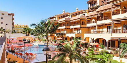 Hotell Los Alisios på Los Cristianos, Teneriffa.