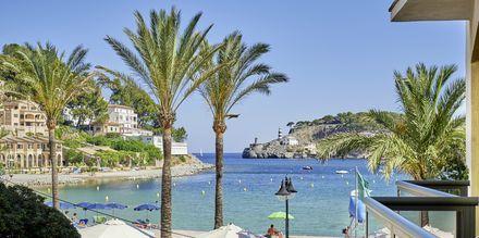 Dubbelrum på hotell  Los Geranios i Puerto de Sóller på Mallorca.