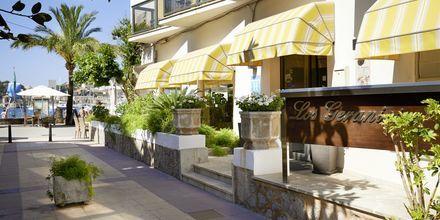 Hotell Los Geranios i Puerto de Sóller på Mallorca, Spanien.