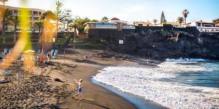 Härliga dagar på stranden i Los Gigantes & Playa de la Arena på Teneriffa.
