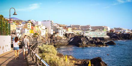 Promenad längs klipporna i Los Gigantes & Playa de la Arena på Teneriffa.