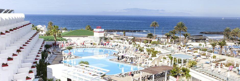 Poolområde på hotell Lti Gala i Playa de las Americas på Teneriffa.