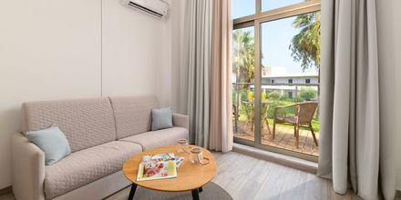 Familjerum på hotell Lutania Beach i Kolymbia på Rhodos, Grekland.