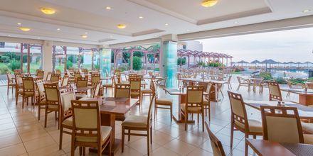 Restaurang på hotell Lutania Beach i Kolymbia på Rhodos, Grekland.