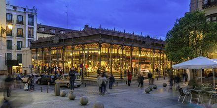 Matmarknaden Mercado de San Miguel är ett livligt ställe med ljuvlig mat.
