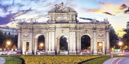 Madrid är Spaniens huvudstad och kännetecknas av stora alléer och monument.