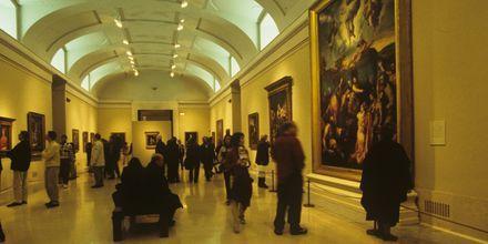 Pradomuseet i Madrid har en av världens främsta konstsamlingar när det kommer till äldre konst.