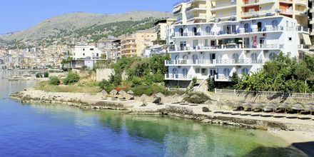 Hotell Maestral i Saranda, Albanien.