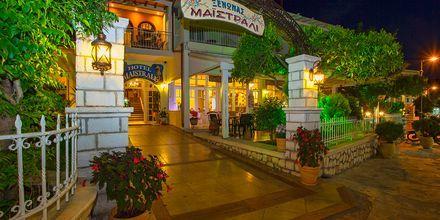 Hotell Maistrali på Parga, Grekland.