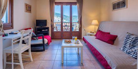 Tvårumslägenhet på Hotell Maistros på Skopelos.