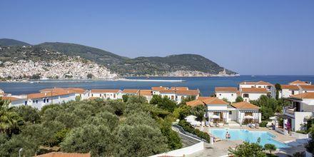 Utsikt från Hotell Maistros på Skopelos.