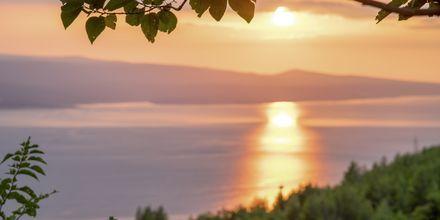 Njut av solnedgången.