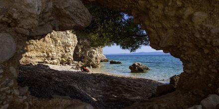 Makarska i Kroatien.
