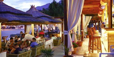 Strandpromenaden i Baska Voda har mysiga restauranger och livfulla barer.