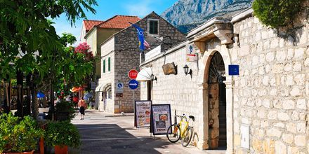 Den lilla orten Tucepi ligger 4 km från Makarska.