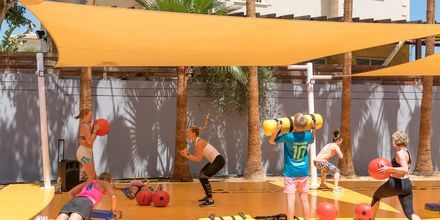 På Malama Beach Holiday Village erbjuds flera träningspass
