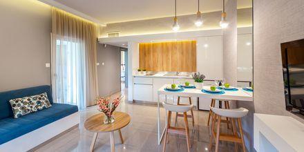 Tvårumslägenhet  på hotell Malama Beach Holiday Village i Fig Tree Bay på Cypern.