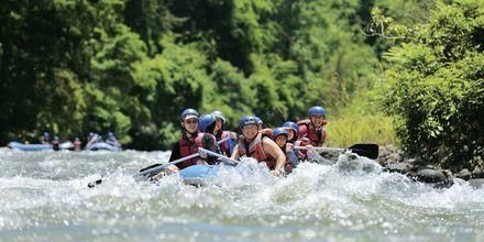 Om du är sugen på adrenalin under din semester i Malaysia kanske forsränning i floden Kiulu River vara något?