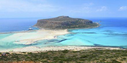Utflykt till Baloslagunen på Kreta.