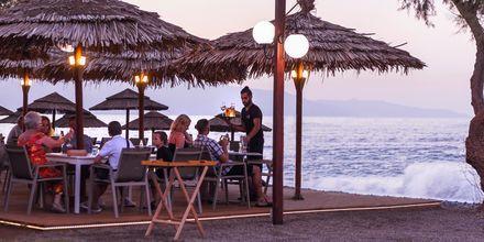 Strandrestaurang i Maleme på Kreta.
