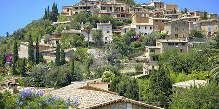 Den vackra byn Deya på Mallorcas västkust. Känd för att locka konstnärer.