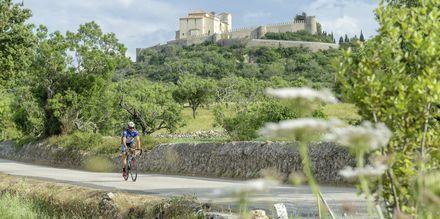 Arta, populärt utflyktsmål bland många cyklister.