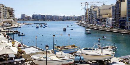 Sliema på Malta är en trevlig stad för den som gillar shopping, avkoppling och mat.